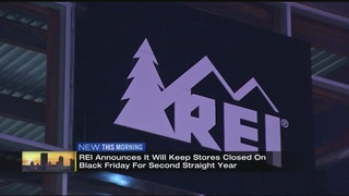 Sporting goods retailer REI to close again for Black Friday
