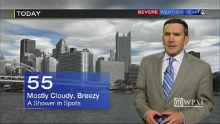 Forecast for today, tonight, tomorrow and next 5 days (10-24-16)