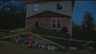 Driver hospitalized after vehicle crashes into Tarentum home