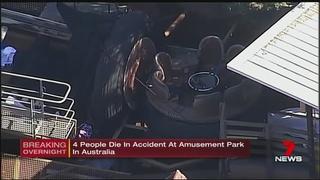 4 killed on river rapids ride at Australian theme park