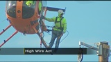 FirstEnergy uses helicopter to build power line over Pennsylvania Turnpike