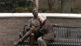 RAW: Fred Rogers statue dedicated in Latrobe