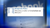 Police post Facebook message to robbery suspect who left behind DNA evidence