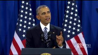 """President Obama is our first 2-term """"war president"""""""