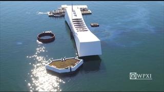RAW: USS Arizona Memorial at Pearl Harbor