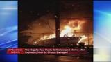 Firefighters respond to McKeesport marina fire