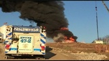 Official: Equipment fire caused massive fire at Washington County gas well