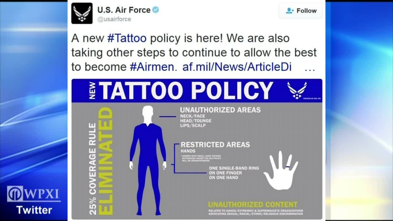 Air Forces Tattoo Policy - NVE Media