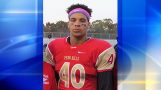 Penn Hills High School football player killed in crash