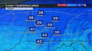 High temperatures for Sunday (1/15/17)