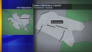 Shooting victim found on sidewalk in Homewood