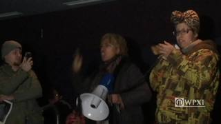RAW: Prostestors at Allegheny County MLK Day gathering