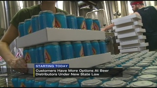 Looser rules on beer sales to take effect in Pennsylvania