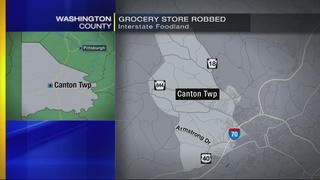 Police looking for suspect in Canton Foodland robbery