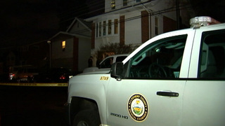 1 person hospitalized with gunshot wound after home invasion