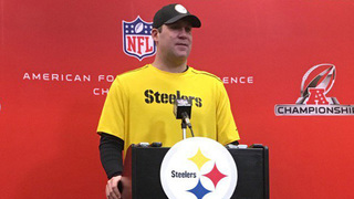 RAW: Roethlisberger, Bell discuss playing the Patriots