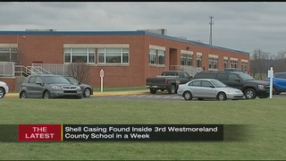 Bullet found in Westmoreland County school a 3rd time; police sweep building
