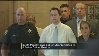 Execution date set for man convicted of killing 3 Pittsburgh officers