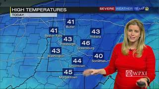 Drop in temps Wednesday after near-record high Tuesday