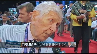 95-year-old delegate has gone to 8 of last 10 inaugurations