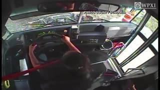 Onboard cameras capture violent school bus crash