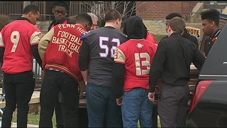 Penn Hills HS football player killed in crash laid to rest