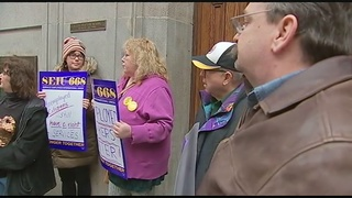Protestors urge lawmakers to fix delays at Unemployment Compensation