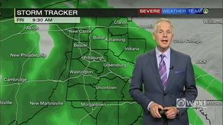 Wet morning commute and areas of fog for Friday