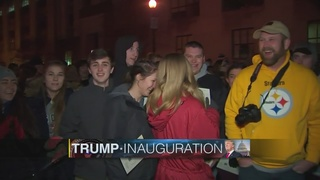 Pittsburgh-area supporters witness Donald Trump