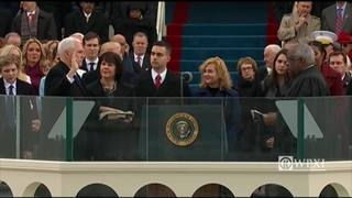 RAW: Mike Pence sworn in as Trump