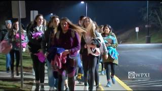 RAW: North Allegheny students head to inauguration