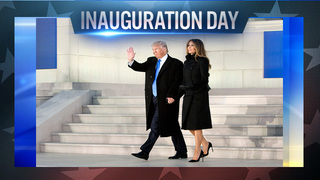 Security in place as locals arrive in DC for Inauguration Day