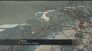 Driver critically injured in crash with tractor-trailer on Pennsylvania Turnpike
