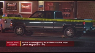Police find possible mobile meth lab in Beaver County