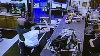 RAW: Customer intervenes during armed robbery at Breakneck Market