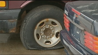 Vandals caught on camera keying cars, slashing tires in Greensburg