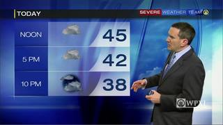 Monday planner and 5-day forecast (1-23-17)