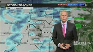 Artic air to turn rain into snow early Thursday