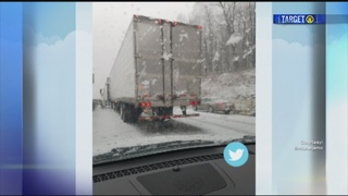 Snow system tests PA Turnpike