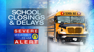 LIVE UPDATES: School closings starting to come in for Monday