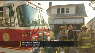 3 people taken to hospitals after fire in McKees Rocks