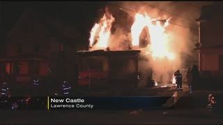 Flames engulf family