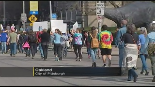 Hundreds take to Pittsburgh streets for