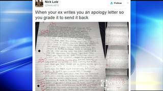 Apology letter gets bad grade