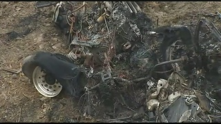 Driver killed when truck crashes, catches fire on I-79 in Washington Co.