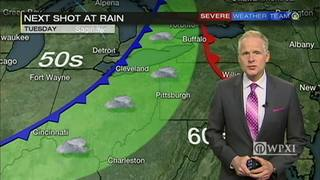 Low chance of rain for most of the week