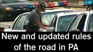 New rules of the road in Pennsylvania