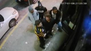 RAW: Surveillance video of Joey Porter
