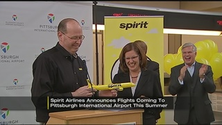 Spirit Airlines adds flights out of Pittsburgh