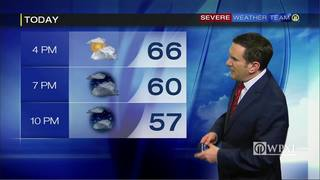 Wednesday evening planner and 5-day forecast (2/22/17)